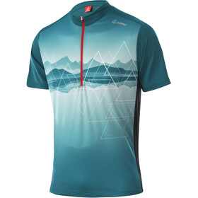 Löffler Peaks Half-Zip Bike Shirt Men, pine